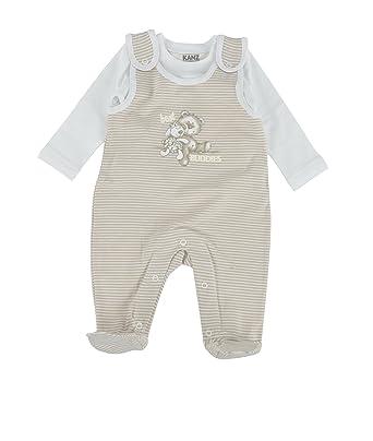 de16fb374cad1f Kanz Unisex Baby Strampler 1516601  Amazon.de  Bekleidung