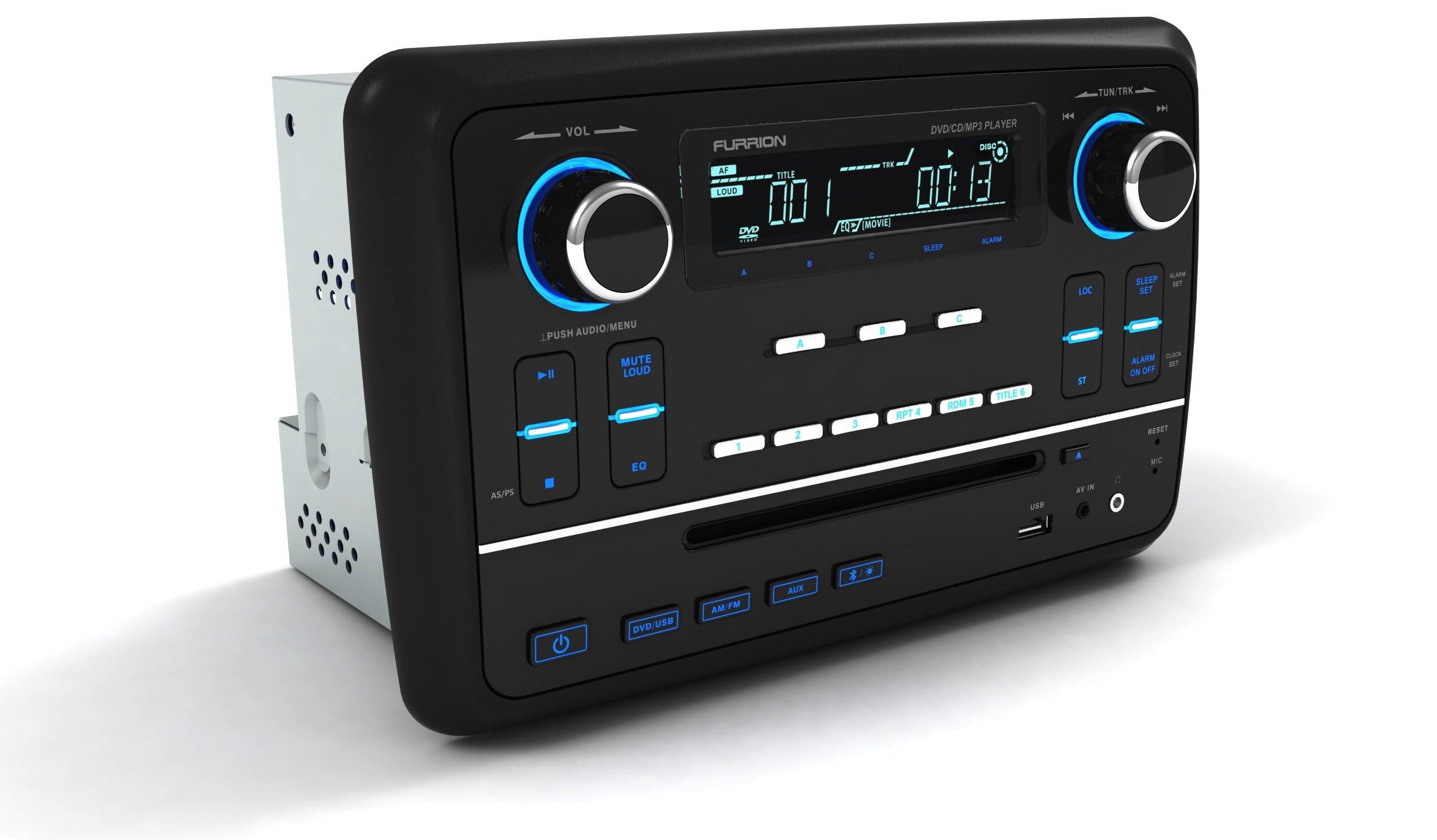 Furrion Dv1200 Wall Mount Bluetooth And Hdmi Rv Stereo Ebay