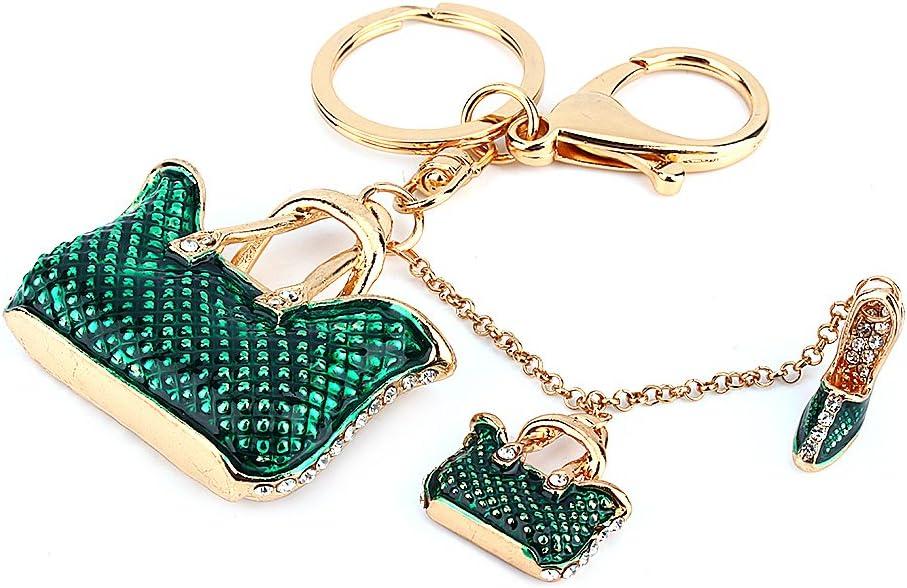 strass cristal Porte-cl/és Charm pendentif Sac /à main Porte-cl/és cadeau 3d Sac et chaussures de porte-cl/és
