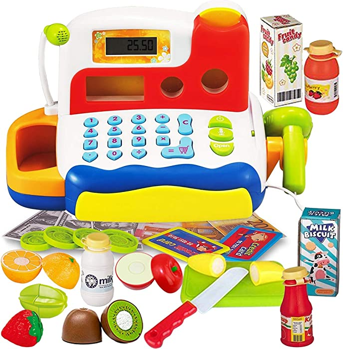 The Best Toy Cash Register For Kids With Play Food