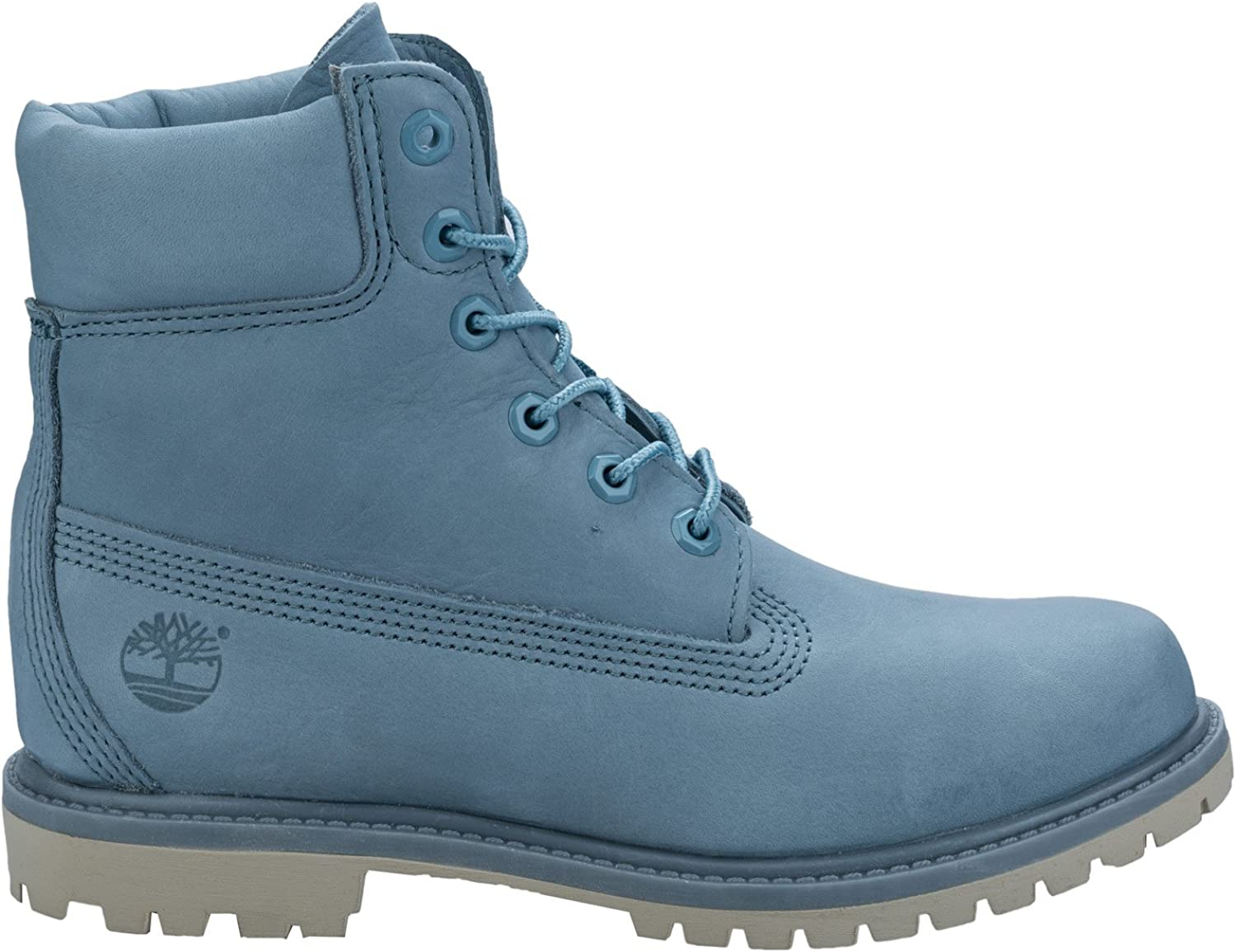 Timberland 6in Premium Boot W STONE BLUE, WOMAN, Size