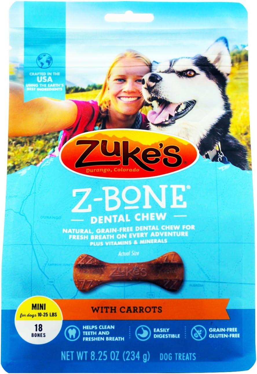 Zukes Performance Pet - Z-bone- Carrot Mini-18 Count - 82416-82516