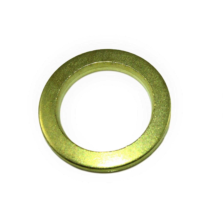 100 Mengenauswahl m/öglich SN-TEC Scharnierscheiben//Fitschenringe /Ø 8mm x 12mm x 2mm vermessingt