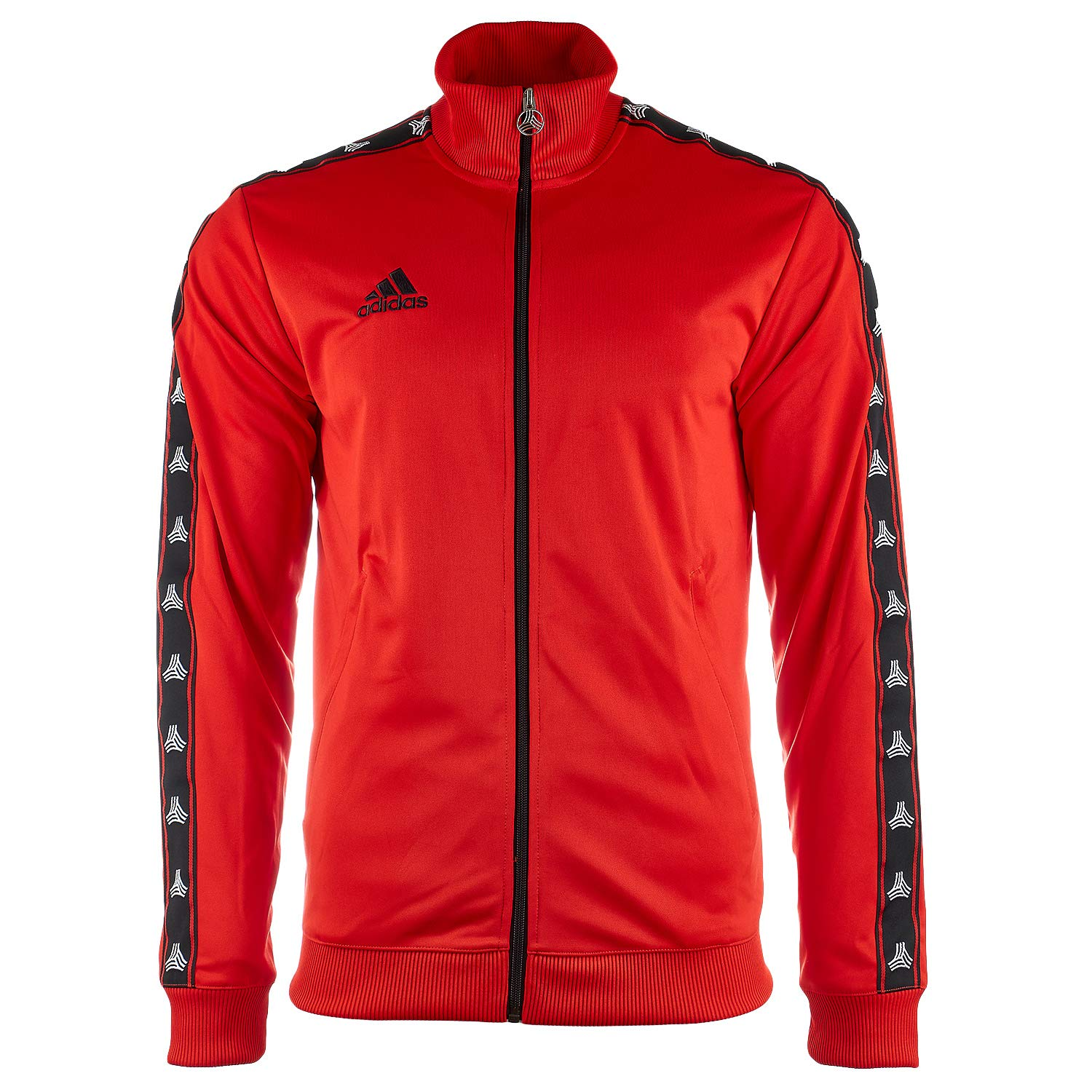 cb46caf7e9 adidas Men's Soccer Tango Tan Tape Clubhouse Full Zip Jacket Track ...