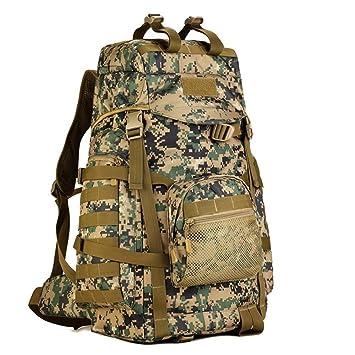 Xuanytp Mochila táctica de nylon de la alta capacidad 60L Mochilas militares Camuflaje que acampa que caza el bolso del deporte, JD: Amazon.es: Deportes y ...