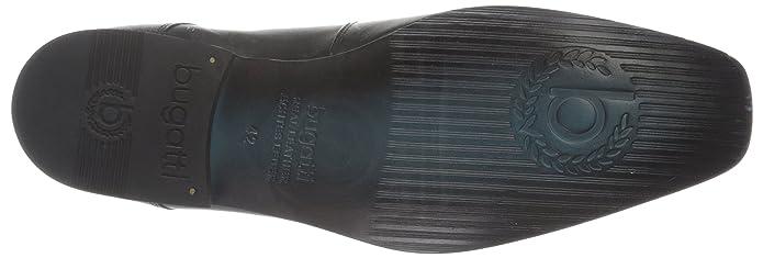 Bugatti Gallo Madras Genesis Softgel Insole T31171- Scarpe uomo, colore Nero, taglia 44