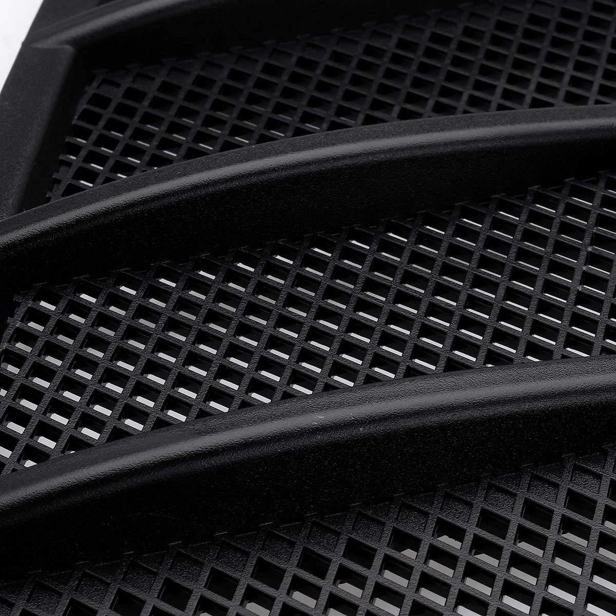 Basage Cappuccio di Aspirazione del Flusso dAria della Griglia di Ventilazione del Cofano Anteriore per Auto 2 Pezzi per Mercedes W166 GL GL350 GL450 GL550 ML ML350 ML550 2012-2015