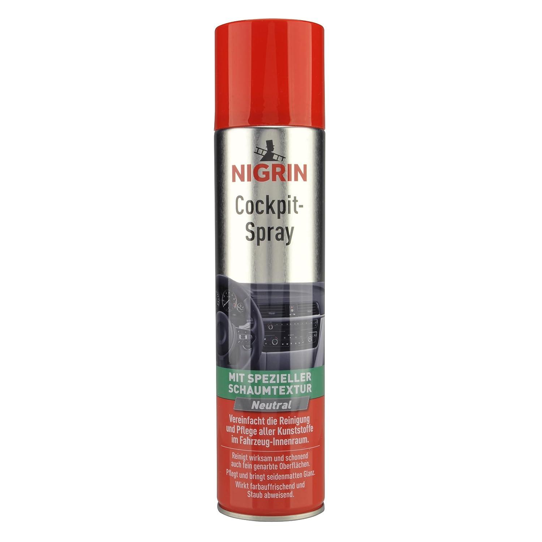 Nigrin 74156 Bombe de nettoyant pour tableau de bord 400 ml, Neutre