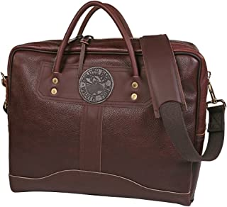 product image for Duluth Pack Pebbled Leather Travelers Portolio Brown