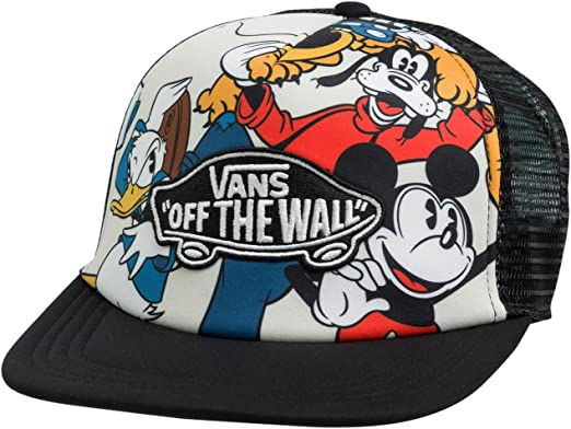 Gorra Vans – Classic Patch Trucker Mickey & Friends Negro OSFA ...
