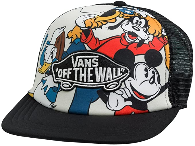 Gorra Vans – Classic Patch Trucker Mickey & Friends Negro OSFA