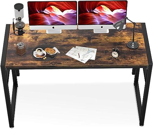 Geniusidea Industrial Style Folding Computer Desk
