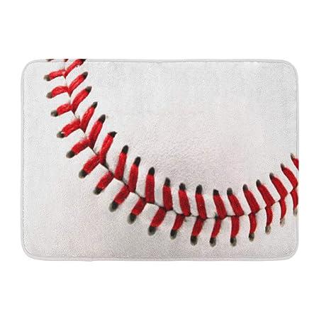 Alfombra de baño Deportes Pelota de béisbol Original Divertido ...