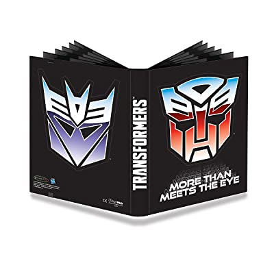 Official Transformers Autobots and Decepticons 9-Pocket PRO-Binder: Toys & Games