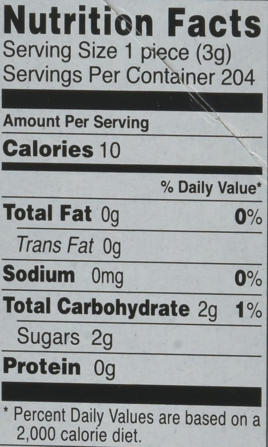 Fruit Stripe Bubble Gum, 1.8 Ounce Pack, 12 Count by Farley's (Image #2)