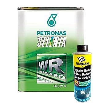 Kit 6 L Aceite coche Selenia 0 W30 Forward + aditivo limpiador Radiador Bardahl: Amazon.es: Coche y moto