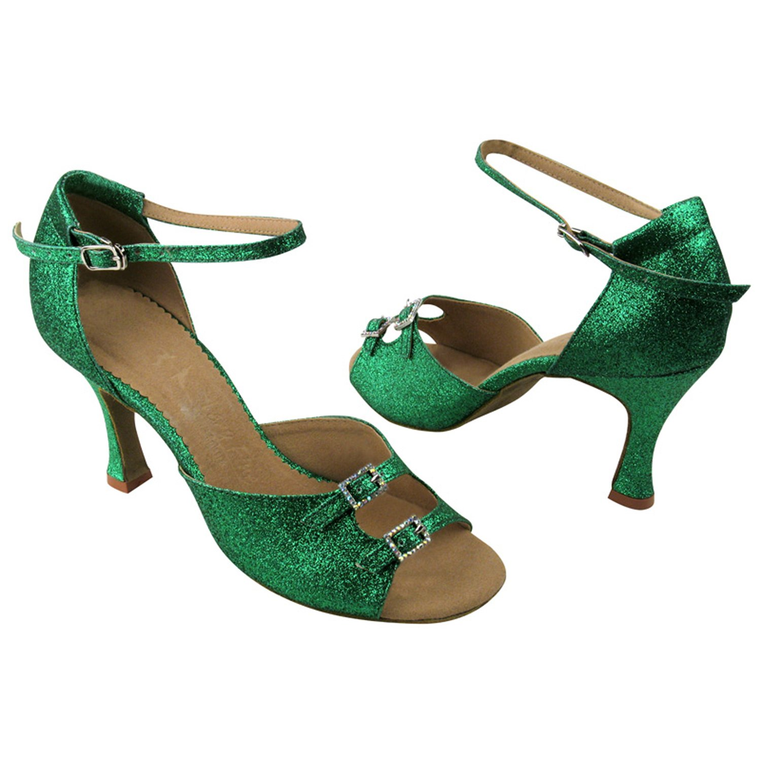 50 Shades Green /& Yellow Ballroom Latin Dance Shoes for Women Ballroom Salsa Wedding Clubing Swing