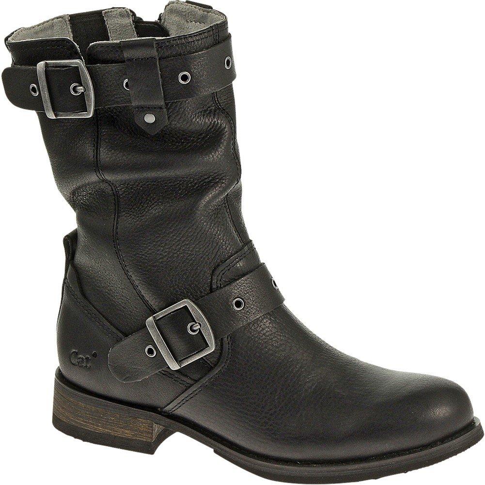 Caterpillar Women's Midi Engineer Boot, Black, 8 M US by Caterpillar (Image #2)
