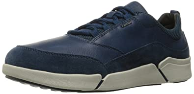 Geox Men's Ailand A Walking Shoe, Ocean Blue, 40 EU/7.0-7.5