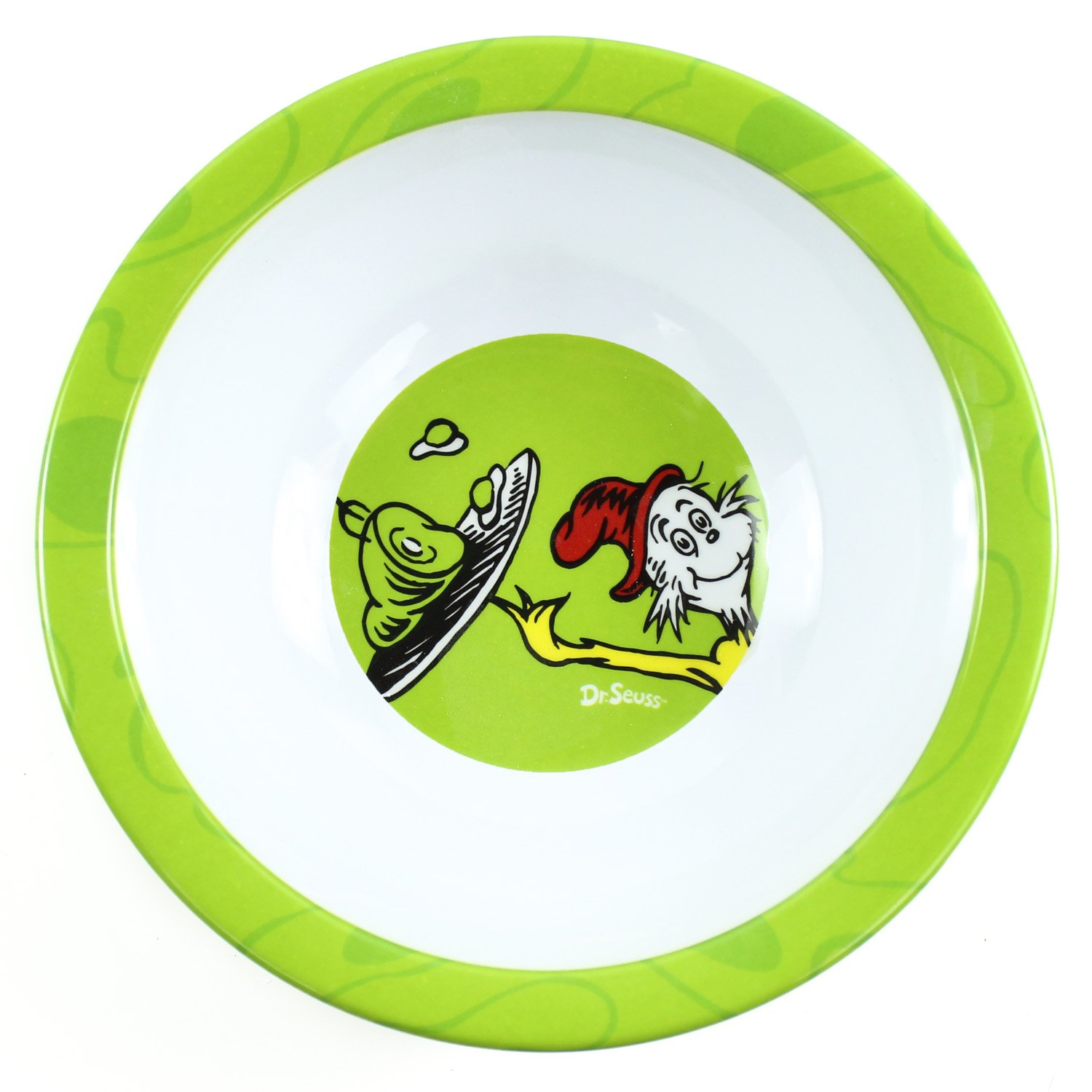 Bumkins Dr. Seuss Melamine Bowl, Yellow One Fish MB