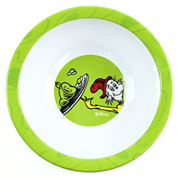 Bumkins Dr. Seuss Melamine Bowl Green Eggs and Ham  sc 1 st  Amazon.com & Amazon.com : Bumkins Dr. Seuss Melamine Bowl Green Eggs and Ham ...