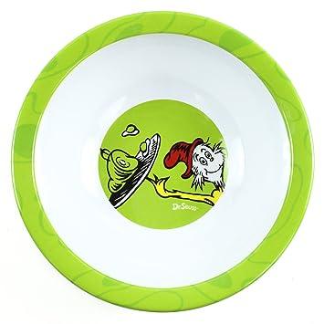 Bumkins Dr Seuss Melamine Bowl Green Eggs And Ham