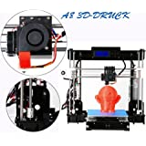 AA+inks A8 3D Drucker Kit Selbstbauen LCD Display ABS PLA Filament Acryl Stampante 3D Drucker DIY 3D Printer kit (Y8)