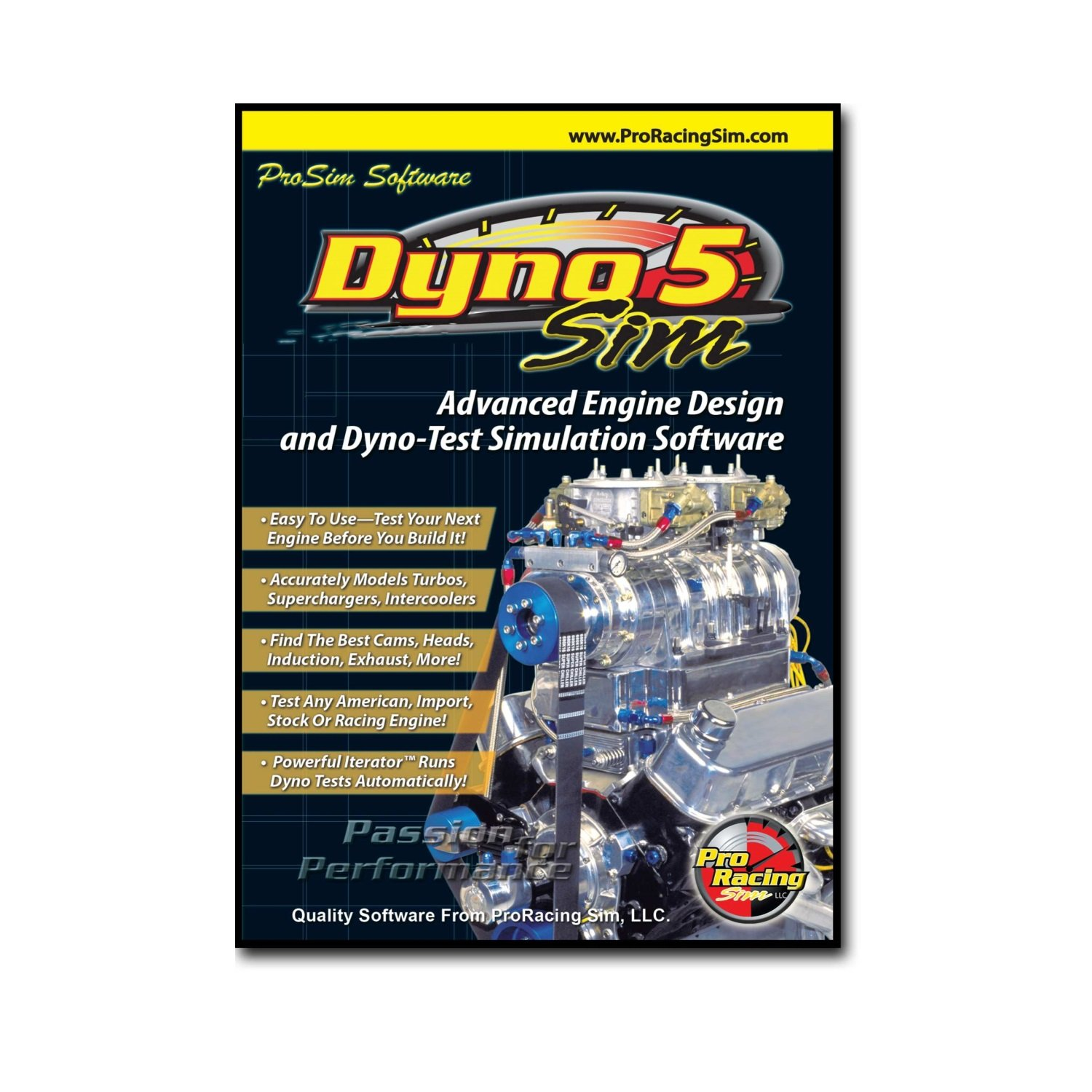 Competition Cams 181501 Pro Racing Sim DynoSim5 Software