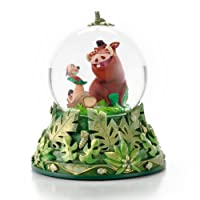 Hallmark Disney CLX2010 Timon and Pumbaa Water Globe