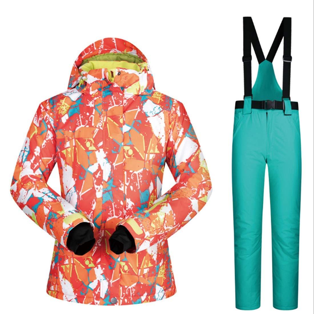 KERVINFENDRIYUN YY4 Snowsuit da Donna Giacca da Sci Sci Sci Invernale e Pantaloni sotto Il Cappotto Zero (Coloree   09, Dimensione   M)B07KXBRSHXM 07 | Aspetto Elegante  | Le vendite online  | Nuovo Arrivo  | unico  | Offerta Speciale  | Prezzo ottimale  24d7ee