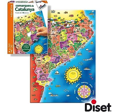 Educa- Provincias España Puzzle infantil de 150 piezas, a partir ...