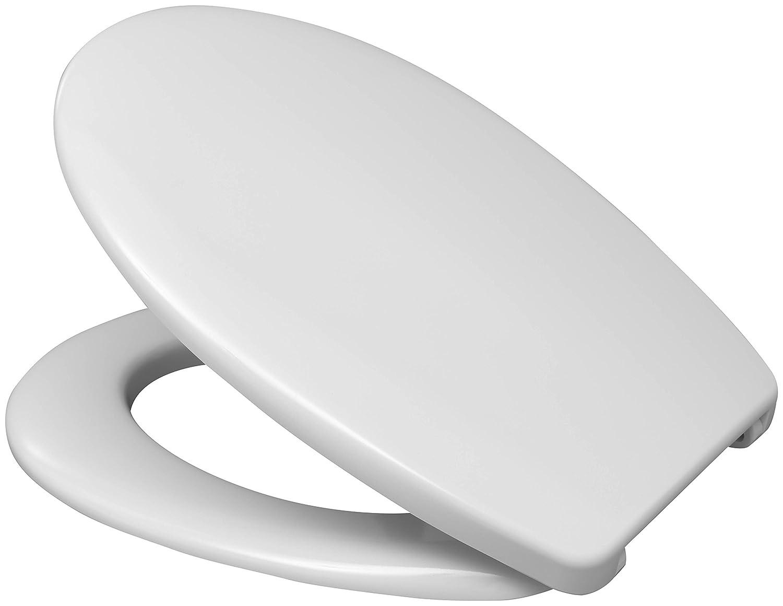 Vitra Bad –  Sedile WC Fago con cerniere in acciaio inox da stiro, b0302y, 1 pz, bianco, 527653 1pz Hamberger Sanitary