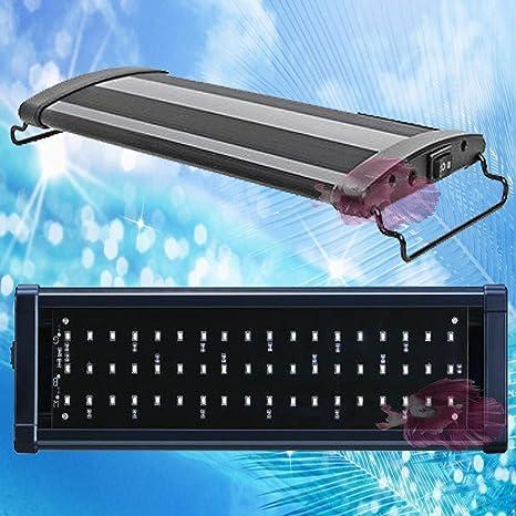 PANTALLA DE LUZ LED PARA ACUARIO 60-90CM PANTALLAS LUZ LED DE ACUARIO LUZ LED