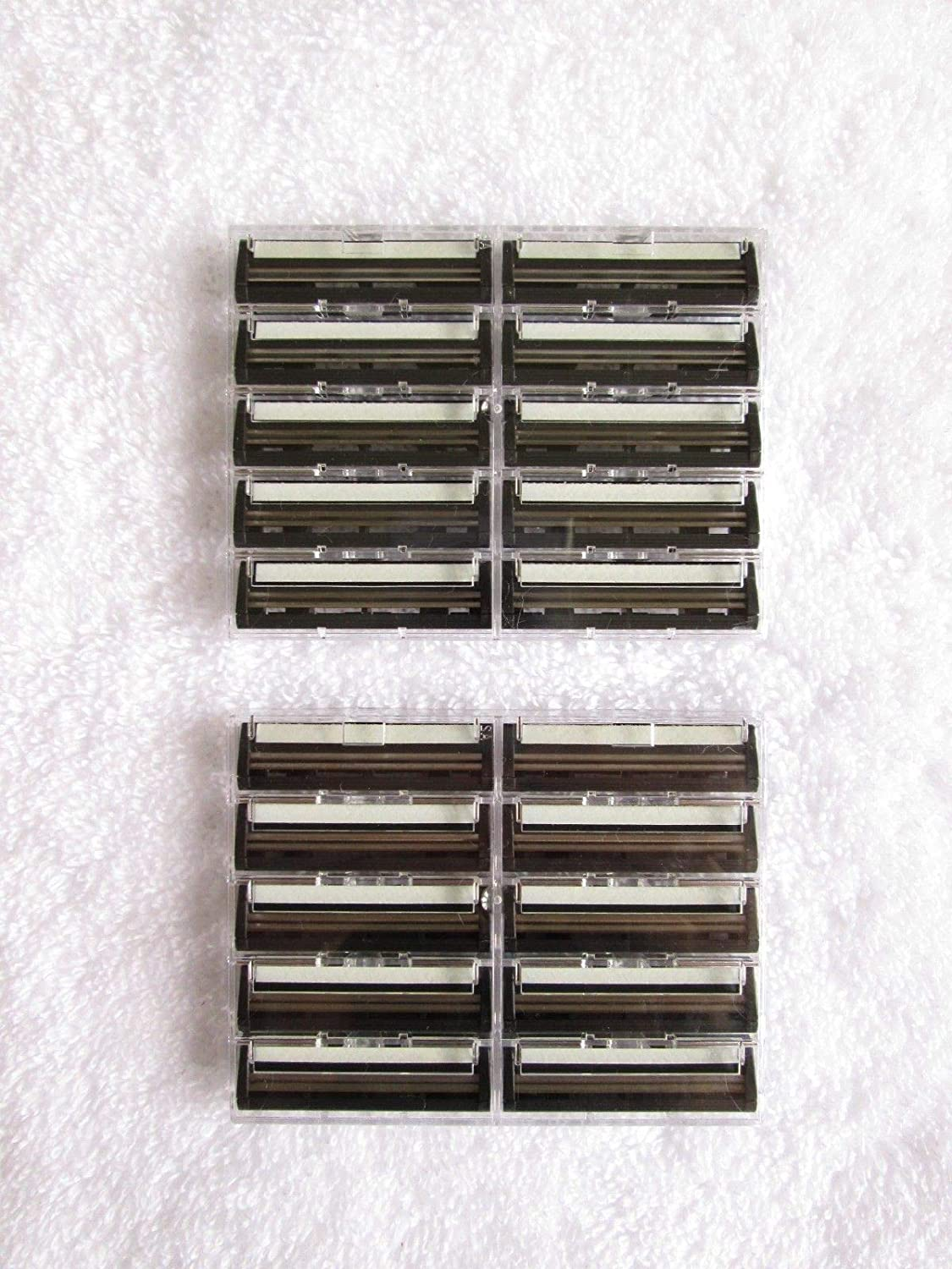 20 twin blade cartridge razor blades, compatible with most standard razors, slide-on or clip-on Number One Interiors