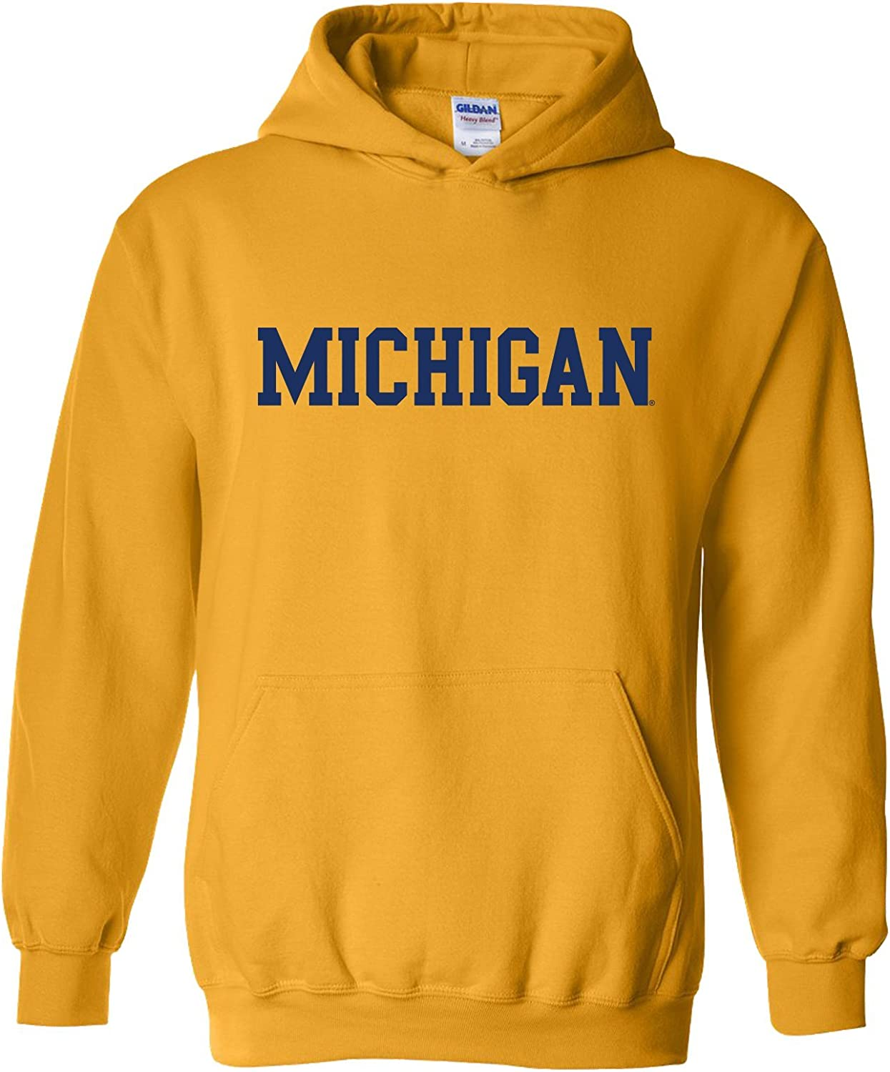 NCAA Officially Licensed College - University Team Color Basic Hoodie Sweatshirt: Clothing