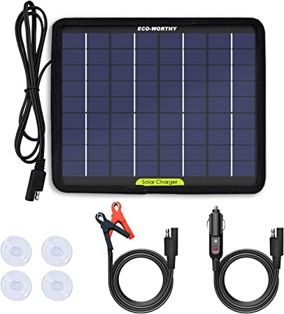 Amazon.com: ECO-WORTHY panel solar portátil de 12 V y ...