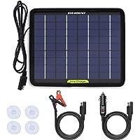 ECO-WORTHY 12V 5W Energía del Panel Solar Portátil Para Cargador de Batería de Coche con Ventosa Trasera Para…