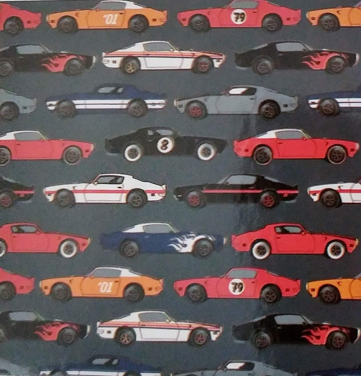 Amazon.com  Throw Blanket Vintage Sports Car Racecar Print 50