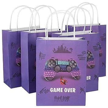 Amazon.com: Bolsa de regalo para fiesta de videojuegos ...