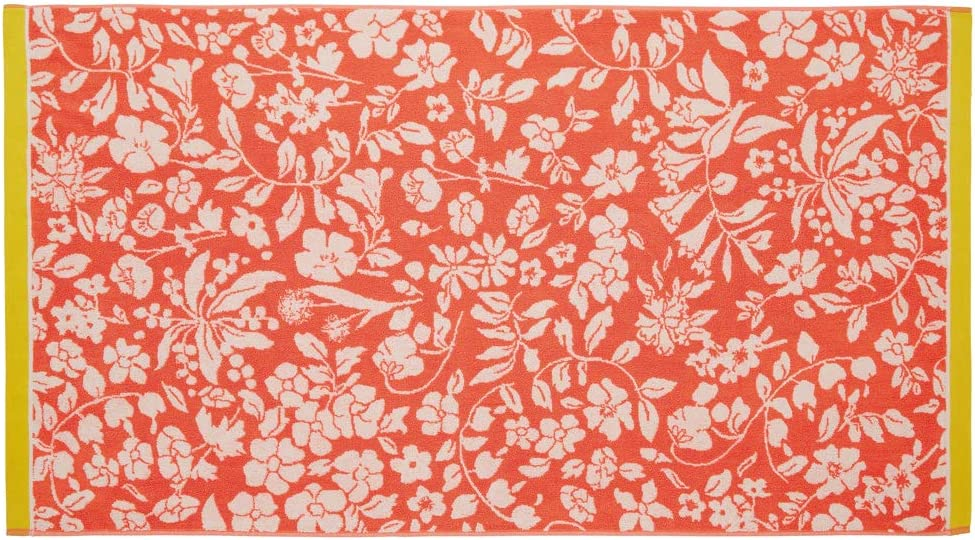 100/% COMBED COTTON TERRY Fruit Salad 550 GSM Joules Orchard Ditsy Towels Hand 50 x 90 cm