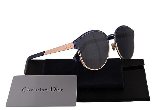 9f3a3331f6 Christian Dior DiorSymmetric Sunglasses Marble Blue w Blue Mirror Lens 59mm NUMA9  Dior Symmetric  Amazon.co.uk  Clothing