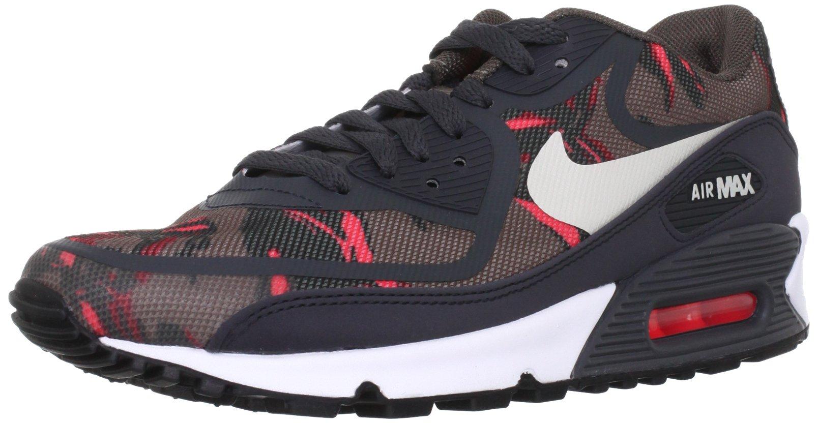 Buy Nike Air Max 90 PREM TAPE SN Men Red And Brown Running