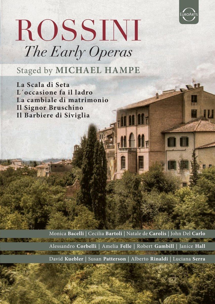 DVD : MICHAEL HAMPE - Early Operas (4PC)