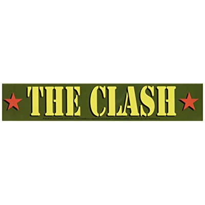 C&D Visionary The Clash Army Logo Sticker: Toys & Games