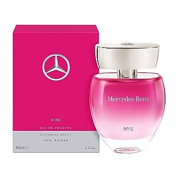 Mercedes Benz | Rose | Eau de Toilette | Spray for Women | Floral Fruity Scent | 2 oz