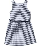 Nautica Girls Patterned Sleeveless Dress