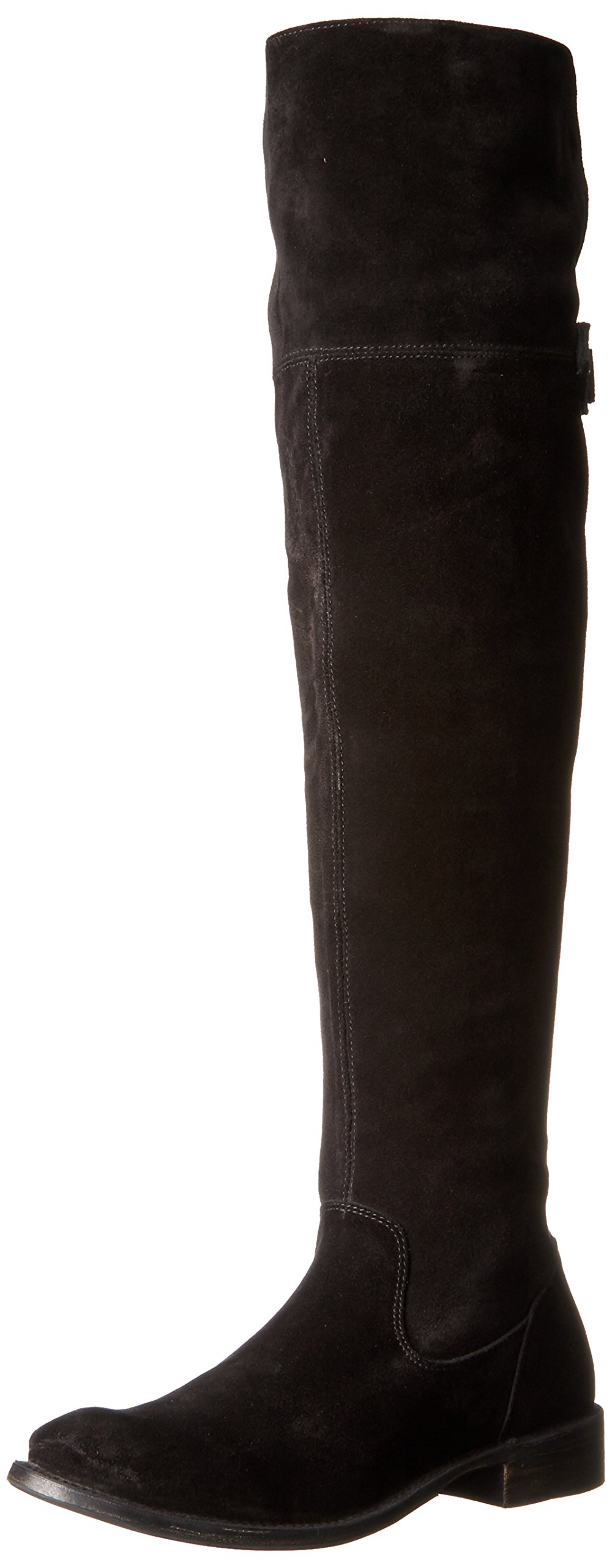 FRYE Women's Shirley OTK Slouch Boot, Black, 5.5 M US by FRYE