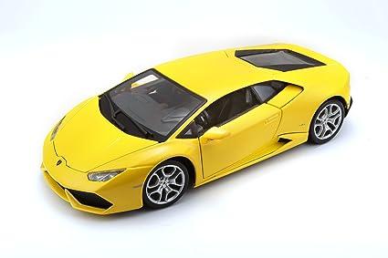 Buy Bburago 1 18 Lamborghini Huracan Lp 610 4 Die Cast Car Yellow