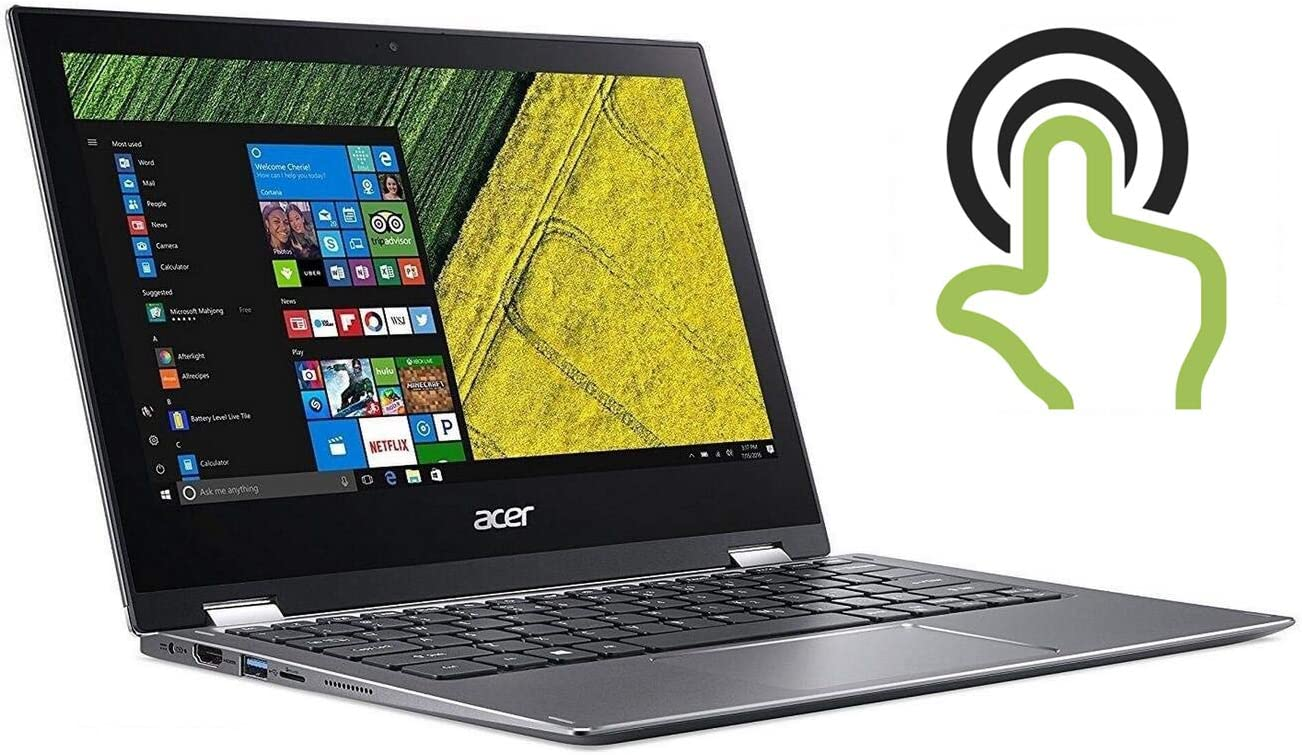 Acer High Performance Spin 2020, 11.6in FHD IPS 1920 x 1080 Multi-Touch Laptop, Intel Pentium N4200 Quad-core Up to 2.5GHz, 4GB RAM, 64GB SSD, 802.11ac WiFi, Bluetooth, HDMI, Win10 S (Renewed)