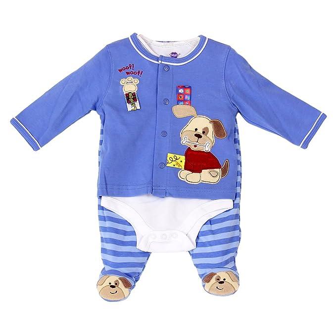 Pijama de una pieza para bebé, talla 0-3 Months -